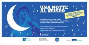 locandina una notte al museo