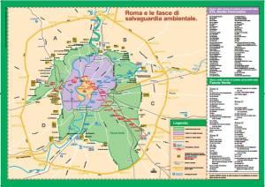 mappa fascia verde