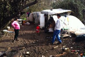 bimbi al campo rom