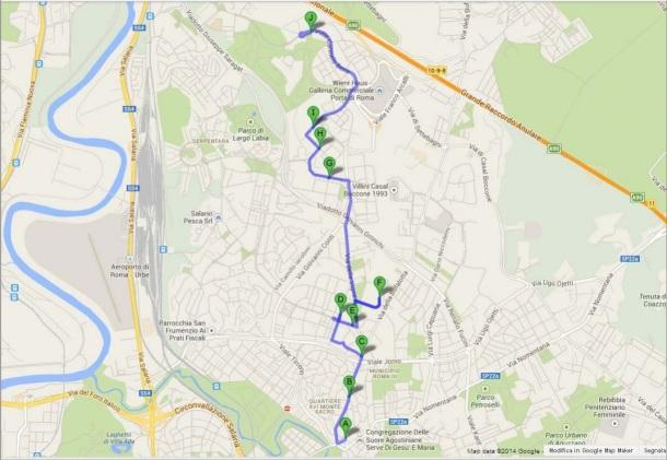 cicloclick percorso