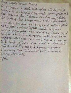 lettera bambini